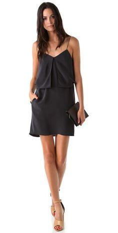 Stylmee - 3.1 Phillip Lim Multi Layer Fold Dress $495  #fashiongame #fashion