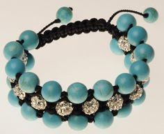 Blue turquoise bracelet talisman amulet turquoise amulet bracelet female Blue gift Christmas New Year's Valentine's Day stylish gift woman