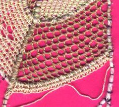 needle lace stitches