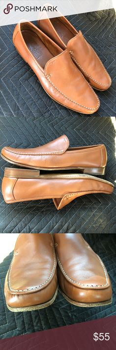 SOLD Men's 11D Ferragamo Driving Moccasin Loafers Fine looking pair of Italian loafers by Salvatore Ferragamo. 11D Clean inside and upper. Normal wear on sole. Salvatore Ferragamo Shoes Loafers & Slip-Ons