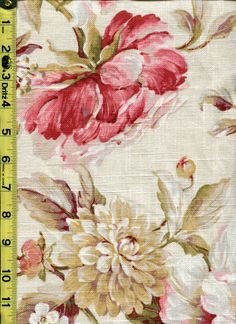 img9618 from LotsOFabric.com! Go for the shabby chic pattern with these soft, pastel floral. Order swatches online or shop the Fabric Shack Home Decor collection in Waynesville, Ohio. #drapery #bedding #upholstery #furniture #inspo #interiordesign