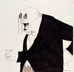 Untitled, 1966 by Tomi Ungerer on Curiator, the world's biggest collaborative art collection. Caricatures, Illustrations, Graphic Illustration, Caricature Art, Image Cinema, Satirical Cartoons, The Drawing Center, Creepy Kids, Political Posters