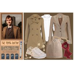 The Tenth Doctor - Doctor Who Ok. I'm a total nerd, but this outfit?? Fabulous. And nerdy. Love.
