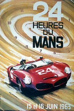 1963 24 Heures du Mans by G. Leygnac