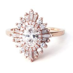 """The Oval """"Gatsby"""" Ring – Heidi Gibson...what a DREAM"""