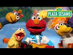 Plaza Sésamo: ¡Elmo y sus amigos patitos! - YouTube