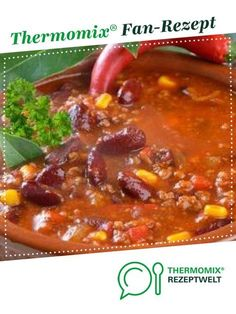 Ein Thermomix ® Rezept aus der Kategorie Hauptgeri… Chili con Carne by jenneti. A Thermomix ® recipe from the main meat with meat category www.de, the Thermomix® Community. Crock Pot Recipes, Chili Recipes, Casserole Recipes, Meat Recipes, Pasta Recipes, Vegetarian Recipes, Chicken Recipes, Dinner Recipes, Easy Healthy Recipes