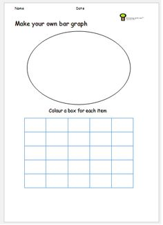 bar graph kids shapes ks1 worksheet | Teaching in the classroom ...