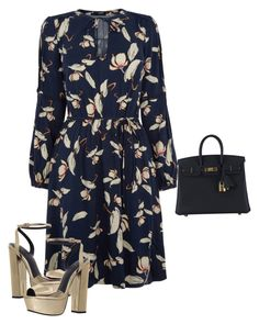 """Untitled #1548"" by quaybrooks on Polyvore featuring Oasis, KG Kurt Geiger and Hermès"