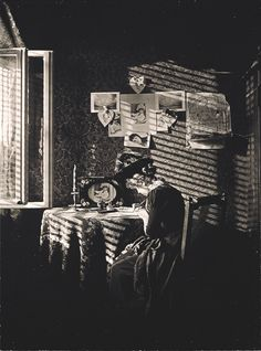 Alfred Stieglitz: Sunlight and Shadow, Paula, Berlin, 1889 (George Eastman House)