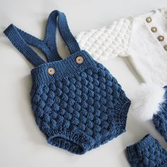 Ideas Crochet Baby Boy Romper Clothing Ideas Crochet Baby Boy Romper Clothing Knitting works add the time when ladies spend their free time,. Crochet Baby Poncho, Crochet For Boys, Knitting For Kids, Knit Crochet, Crochet Romper, Knitted Baby Romper, Crochet Baby Outfits, Free Knitting, Baby Clothes Patterns