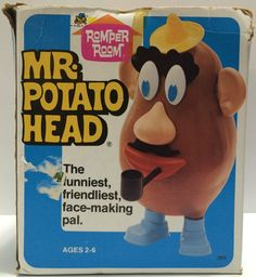 (TAS030604) - 1975 Hasbro Romper Room - Mr. Potato Head (Broken)