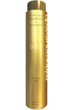 "Miriam Quevedo (miriamquevedo) Mediterraneum SUBLIME GOLD ""The Gold Mask"" Hair Conditioning with Micronized 24kt Gold,Caviar,Imperial Orchid,Bio Argan Oil by Miriam Quevedo , 8.5 fl oz Made in Spain. -- You can find out more details at the link of the image."