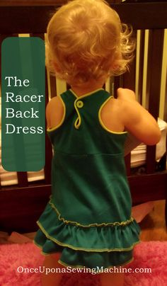 The Racer Back Dress: A DIY Sewing Project