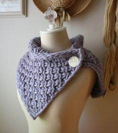 Chunky, textured, oversized cowl knitting pattern ... free!  Actually, you get my two best selling knitting patterns just for joining my (also free) mailing list :)