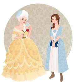 Historical Belle by juliajm15 on DeviantArt