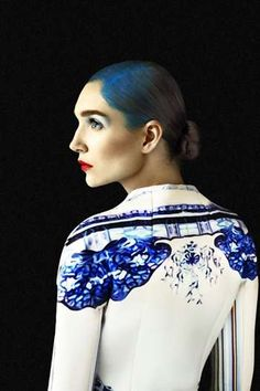 Architecturally beautiful fashion pieces created by Greek designer Mary Katrantzou.