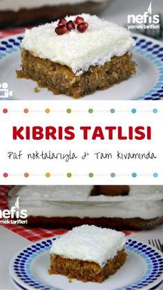 Easy Desserts, Delicious Desserts, Dessert Recipes, Eclair Recipe, Good Food, Yummy Food, Turkish Recipes, Snacks, Tasty Dishes