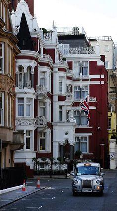 Balconies, London, England