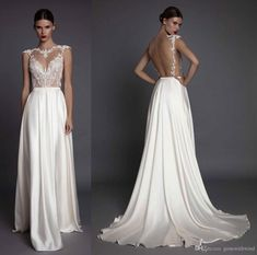 A Line Wedding Dresses 2017 Muse Berta Bridal Cap Sleeves Illusion Jewel Neck Sweetheart Neckline Heavily Embellished Bodice Open Low Back Latest Wedding Gown Mature Wedding Dresses From Gonewithwind, $301.51  Dhgate.Com