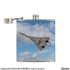 Supersonic Concorde G-BOAB Flask