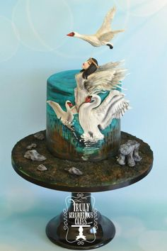 The Children of Lir - Cake by TrulyS