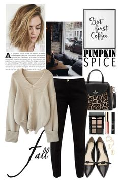 """Untitled #30"" by puspitantri ❤ liked on Polyvore featuring Kate Spade, 3.1 Phillip Lim, Ted Baker, WALL, MANGO, Bobbi Brown Cosmetics, tarte, MAKE UP FOR EVER, black and Sweater"