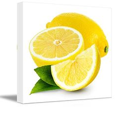 Canvas Prints Wall Art - Fresh Lemon Fruits Photograph | ... https://www.amazon.com/dp/B00UMMYDK4/ref=cm_sw_r_pi_dp_Jl-NxbJMKCQGJ