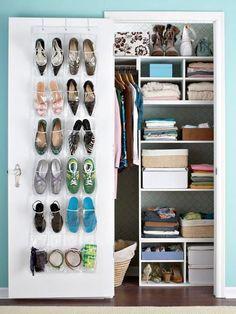 dorm closet organization ideas