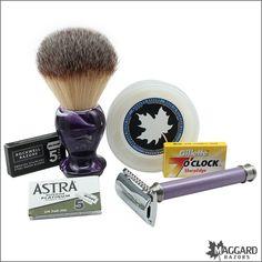 Maggard Razors Basic Wet Shaving Starter Kit for Women | Maggard Razors - Straight Razor Restoration, Custom Scales and Wet Shaving Products