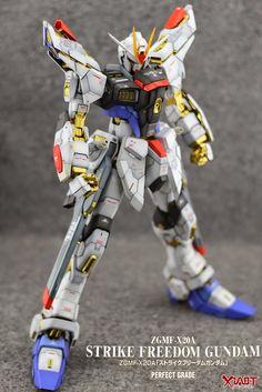 PG 1/60 Strike Freedom Gundam - Custom Build - Gundam Kits Collection News and Reviews