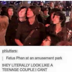 Fetus phan makes the most ADORABLE couple