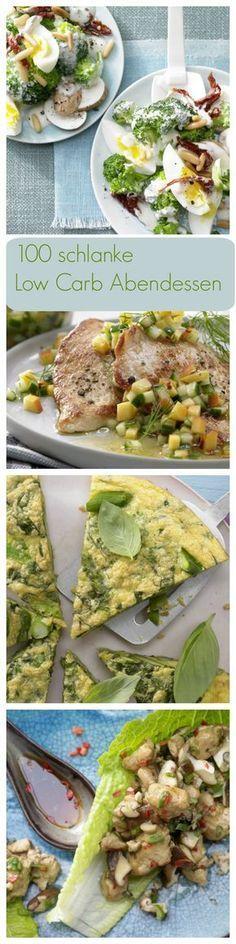 Die Low-Carb Diät setzt auf den Verzicht von Kohlenhydraten und punktet mit viel Eiweiß. EAT SMARTER liefert dir tolle neue Ideen für die abendliche Low-Carb Küche   http://eatsmarter.de/rezepte/rezeptsammlungen/low-carb-abendessen-fotos#/0