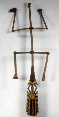 Face Mask [Dogon peoples; Mali] (1977.394.39) | Heilbrunn Timeline of Art History | The Metropolitan Museum of Art
