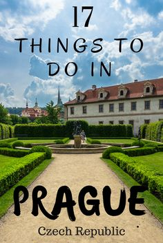 There are so many things to do in Prague, Czech Republic. Prague is on everyone's list when heading to Europe. We have made a list for you of the best things to do in Prague. Enjoy.