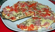 Receita de Pizza de Frigideira - Receita Toda Hora