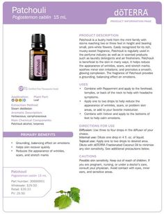 doTERRA Patchouli ~ To explore and purchase essential oils visit: https://www.mydoterra.com/sarajanelle/#/ or on Facebook https://www.facebook.com/doterrasarajanelle/