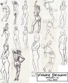 ART Figure Drawing exercise, colored pencil #ART #figure #drawing ...