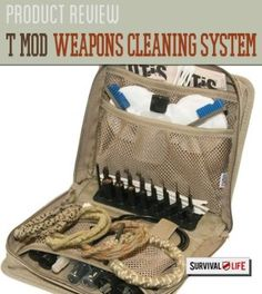 Product Review: The T MOD Weapons Cleaning System by Otis Technology | Check Out Our Trusted & Unbiased Professional Product Review By Survival Life http://survivallife.com/2015/02/11/t-mod-weapons-cleaning-system/