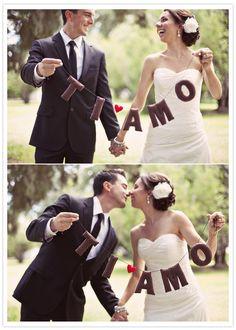 Perfect for an Italian wedding :)