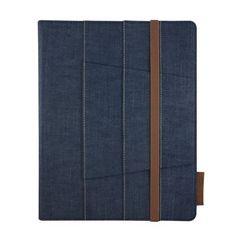 "Lifeworks The Denim Jacket Universal Slim Folio Case For 9-10"" Tablets (Blue)  #LifeworksTechnology"