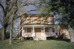 Quaker Meadows, built circa 1812 in Burke County, NC.