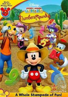 Mickey Mouse Clubhouse Mickeys Numbers Roundup (Dvd)