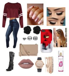 """""""Movie Date"""" by destinyswain on Polyvore featuring Nicki Minaj, LULUS, Jessica Carlyle, Vivienne Westwood and Lime Crime"""