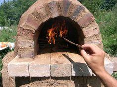 Глиняная печь для хлеба на даче своими руками//ОПТИМИСТ