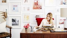 An exclusive makeover of Lauren Conrad's Paper Crown offices in LA.
