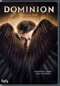 Dominion S1 DVD/Blue-Ray box Cover Art (click the pic for more info)
