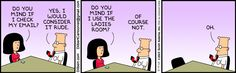 The Dilbert Strip for May 9, 2013