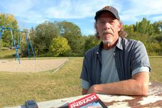 Rick Smith comes to South Glenmore Park fairly often to canoe, play with his grandson or read. One thing he enjoys about Calgary is the recreational facilities, which he says he hopes the city will maintain. #YYCFaces #YYC #Calgary #AB (Photograph by Allison Badger)