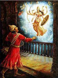 "Krishna Shyam Govinda Hari hindou Bhagwan Dieu en taille 7/"" x 5/""Hindou Divinités"